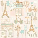 Paris - France,France,Cafe,French Culture,Old-fashioned,Retro Revival,Pattern,Ilustration,Poster,Backgrounds,Vector,Menu,Romance,Arc de Triomphe,Painted Image,Park - Man Made Space,Cards,Sketch,Famous Place,Bicycle,Tree,Invitation,Textured Effect,Silhouette,Human Hand,Text,Window,Umbrella,Symbol,Restaurant,Europe,Sepia Toned,Collection,Art Product,Postcard,Drawing - Art Product,Concepts,Design,Cloud - Sky,Street,Engraving,Cloudscape,Decor,Sketch Pad,Creativity,Ideas,Paper,Set,Inspiration,Pencil Drawing
