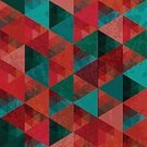 Backgrounds,Pattern,Triangle,Color Image,Ilustration,Vector