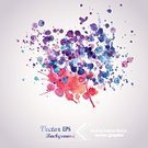 Splattered,Watercolor Paints,Ilustration,Vector,Backgrounds,Color Image