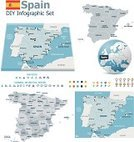 Spain,Map,Cartography,Vector,Portugal,Three Dimensional,France,Politics,Europe,Infographic,Distance Marker,Computer Icon,provinces,World Map,Natural Disaster,Earth,Symbol,Globe - Man Made Object,Kingdom Of Spain,Autonomous Communities,Political Division,International Border,Separation,Country - Geographic Area,Planet - Space,Administrative Divisions,Environmental Damage,Disaster,state,Volume - Fluid Capacity,template,European Union,Land,municipalities,continent,Sovereignty,Sea,Flag,Plan,Report,Instrument of Measurement,Crisis,subdivision,Icon Set,Hemisphere,Set,Collection,Blue