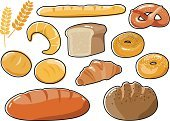 Cereal Plant,Baked,Brown Bread,Bread,Bagel,Wheat,Bakery,Pretzel,French Culture,Healthy Lifestyle,Refreshment,Poppy,Oat,Salt,Organic,Poppy Seed,Clip Art,breadroll,Sesame,Croissant,Baguette,Meal,Food,Food And Drink,French Bakery,Grain And Cereal Products,Rye Bread,Freshness,White Background,Icon Set,Michael Roll - Basketball Player,Gourmet,Whole Wheat,Healthy Eating,Whole-meal Bread