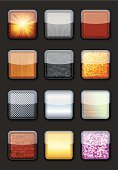 Icon Set,Color Image,Ilustration,Textured,Vector
