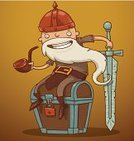 Mischief,Human Face,Fantasy,Dwarfed,Animated Cartoon,Dwarf,Cartoon,Honor Guard,Muscular Build,Gold Chain,Sports Helmet,Weapon,Warrior,War,Metal,Heavy,Sword,Characters,Combat Sport,Garden Gnome,Red,Viking,Single Object,Gold,Remote,Strength,One Person,Magic,Fairy Tale,Sneering,Standing,D.J. White,Boot,Male,Human Head,Irony,Gold Colored,Armed Forces,Suit of Armor,Facial Expression,Beard,Pattern,Ilustration,Serious,Caricature,Chain,Design,Protection,Fun,Creativity,Humor,Vector,Anne Grey,Looking,Comic Book,Work Helmet,Coin,Isolated,Iron - Metal