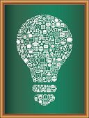 Inspiration,Green Color,Blackboard,Icon Set,Imagination,Planet - Space,Ideas,Education,Mortar Board,Light Bulb,Globe - Man Made Object,Drawing Compass,Sphere,Symbol,Creativity,Letter A,Teacher,Student,List,Computer Icon,Classical Style,Textbook,Test Tube,Academic Cap,Scissors,School Bus,Soccer Ball,School Supplies,White,Brown,Book Cover,Writing,Pencil,Computer,Paintbrush,Book,Alphabet,orthography,Letter C,Pen,University,Alarm Clock,Letter B,Crayon,Art and Craft Equipment,Seminar,Back to School,School Building,Hard Cover Book,Microscope