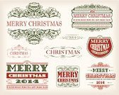 Christmas Decoration,Christmas Ornament,Victorian Architecture,Vector,Christmas,Pattern,Old-fashioned,New Year,Banner,Calligraphy,Text