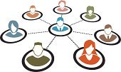 Teamwork,Group Of People,Global Communications,Team,Communication,People,Business,Silhouette,Connection,Human Head,Businessman,Women,Community,Men,Little Boys,Symbol,Global,Human Hair,Human Face,Togetherness,Vector,Organization,Organized Group,Collection,Ilustration,Avatar,Adult,Information Medium,Set,Earth,Profile View,Marketing