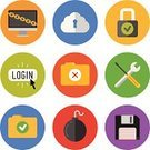 Flat,Computer Icon,Symbol,Internet,Icon Set,Safety,Work Tool,Equipment,Design,Security,Computer,Cloud Computing,Data,Password,Computer Software,Security Staff,Security System,Danger,Document,File,Warning Sign,Disk,Web Page,Communication,Unlocking,Part Of,Lock,Design Element,Vector,Accessibility,Single Object,Information Medium,Modern,Key,Interface Icons,Downloading,Protection,Sign,Floppy Disk,Connection,Global Communications,Log On,Ilustration,Padlock,Set,Collection,Isolated