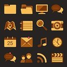 Computer Icon,Internet,Symbol,Sign,Mobile Phone,Interface Icons,Set,Technology,Telephone,Multi Colored,Computer,Vector,Ilustration,Collection,Modern