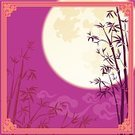 Chinese New Year,Mid-autumn Festival,Mid-Autumn,Frame,Silhouette,Night,Full Moon,Cloud - Sky,Nature,Decoration,frame border,Traditional Festival,Full,Bamboo,Mid Autumn Festival,Ilustration,Art,spring festival,Purple,Asian Ethnicity,Chinese Culture,oriental style,Holiday,Vector,Painted Image,Moon Surface,East Asian Culture,Picture Frame,Moon,Lantern Festival,Craft,Decor,New Year's Eve,Arts Symbols