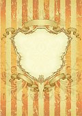 Scroll,Banner,Retro Revival,Ribbon,Shield,Coat Of Arms,Parchment,Distressed,1940-1980 Retro-Styled Imagery,flourishes,Ilustration,Striped,Vector,Art,Swirl,New,Illustrations And Vector Art