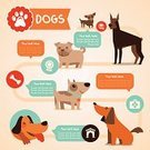 Pets,Dog,Infographic,Symbol,Mascot,Animal,Paw,Vector,Veterinary Medicine,Ilustration,Award,Pug,Space,template,Purebred Dog,Brown,Collection,Cute,Doberman Pinscher,Terrier,Friendship,Canine,Sign,Living Organism,Puppy