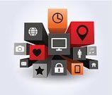 apps,Computer Icon,Social Networking,Cloud - Sky,Symbol,Global Communications,Three-dimensional Shape,Backgrounds,Internet,Interface Icons,Mobility,Application Software,Mobile Phone,Technology,Concepts,Ideas,Smart Phone,Abstract,Cloud Computing,Telephone,Business,Computer,Vector