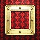 Backgrounds,Shiny,Dirty,Old,Reflection,Decor,Decoration,Metal,Gold,Vignette,Textured,Metallic,Ornate,Frame,Yellow