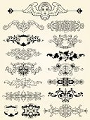 Floral Pattern,Silhouette,Old-fashioned,Baroque Style,Antique,filigree,Flourish,Cartouche,Angel,Classical Style,Symmetry,Retro Revival,Pattern,typographic,Curled Up,Intricacy,Collection,Cherub,Parchment,Elegance,Ilustration,Document,Design Element,foliate,Outline,Leaf,Design,Ornate,Set,Plant,Vector,Swirl,Decoration,curlicue,Luxury