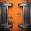 Steel,Iron - Metal,Metal,Dirty,Old,Rusty,Backgrounds,Vignette,Metallic,Stained,Frame,Textured