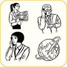 Officer,Telephone,mister,Looking At The Clock,Manager,Business,Businessman,Women,Owner,Teamwork,Businesswoman