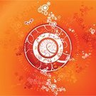 Orange Color,Butterfly - Insect,Circle,Vector,Paint,Red,Backgrounds,Decoration,Cartoon,Paintings,Design,Color Image,Spiral,Holiday,Drawing - Art Product,Ornate,Art,Composition,Shape,Curve,White,Clip Art,Illustrations And Vector Art,Computer Graphic,Celebration,Beautiful,Ilustration,Abstract