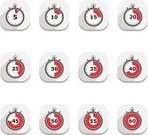 Stopwatch,Symbol,Computer Icon,Time,Second Hand,Silhouette,Flat,Timer,Abstract,Number,No People,Minute Hand,Set,Deadline,Design,Clock,Vector,vector icons,Gray,Red,Circle,Watch,Instrument of Time,Illustrations And Vector Art,Flat Design,Concepts And Ideas,Speed
