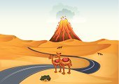 Lava,Fire - Natural Phenomenon,Dirt,Desert,Volcano,Land,Footpath,Clip Art,Sand,Street,Image,Photograph,Computer Graphic,Heat - Temperature,Wealth,Brown,Animal