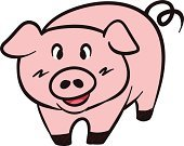 Pig,Cartoon,Comic Book,Manga Style,Pork,Animated Cartoon,Isolated,Fun,Tail,Mammal,Drawing - Activity,Farm,White,Small,Standing,Cheerful,Happiness,Clip Art,Characters,Pets,Vector,Piglet,Fat,Domestic Pig,Design,Art,Mascot,Symbol,Abstract,Snout,Pink Color,Agriculture,Painted Image,Simplicity,Curve,Sign,Computer Graphic,Animal,Young Animal,Cutting,Smiley Face,Binder Clip,Pencil Drawing,Cute,Art Product,Drawing - Art Product,Smiling,Food,Ilustration