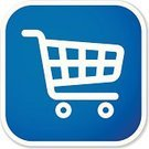 Shopping Cart,Symbol,Retail,Shopping,Blue,Vector