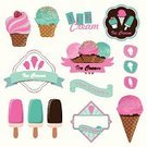 Retro Revival,Old-fashioned,Ice Cream,Sign,Candy,Food,Label,Waffle,Chocolate,Cultures,Vanilla Ice Cream,Ilustration,Sorbet,Classic,Vector,Insignia,Sweet Food,Dairy Product,Design Element,Design,Business,Elegance,Brown,Cold - Termperature,Badge,Dessert,Frozen,Ice Cream Sundae,Style,Computer Graphic,Snack,Ornate,Cream,Symbol,Ice,Set