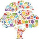 Education,Symbol,Expertise,Educational Subject,Computer Icon,Learning,Intelligence,Tree,Teaching,Teacher,Doodle,Art,Book,Mathematical Symbol,Apple - Fruit,Globe - Man Made Object,Back to School,Mathematics,Graduation,Apple Tree,Computer,Science,Bell,Pencil,Planet - Space,Beaker,Blackboard,Musical Note,Student,Paintbrush,Backpack,School Subjects,Handprint,Chalk - Art Equipment,Scissors,Nature,Leaf,Lunch Box,Drawing - Art Product,Bus,Star Shape,Set,Glue,Ilustration,Large Group of Objects,Clock,Crayon,Calculator,Question Mark