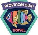 Travel,Fish,USA,Rainbow,Summer,Resort Town,Sea,Beach,Massachusetts,Vacations,Town,Travel Sticker,Provincetown,Luggage Tag,Label,Cape Cod,Multi Colored