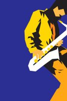 Jazz,Saxophone,Blues,Music,Passion,Blue,Sparse,Part Of,Yellow,One Person,Simplicity