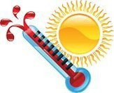 Thermometer,Exploding,Full,Shiny,Image,Computer Icon,Heat - Temperature,Sunlight,wether,Map,Sign,Sun,Computer Graphic,Cartoon,Drawing - Art Product,Clip Art,Application Software,Isolated,Symbol,Meteorology,Temperature,Ilustration,Vector,Weather