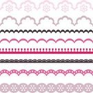 Ribbon,Flower,Fringe,Paper,Fashion,Textile,Cut Out,Lace - Textile,Stripper,Scrapbook,Curled Up,Print,Floral Pattern,Part Of,Retro Revival,Frame,Old-fashioned,Design,Textured Effect,lacework,Swirl,Material,Vector,Seamless,Lingerie,Scrapbook Elements,Married,Paper Punch,Wrapping Paper,fancywork,Abstract,Backdrop,Backgrounds,Old,Cordon Tape,Striped,Computer Graphic,Wallpaper Pattern,Embroidery,Banner,Pattern,Wedding,handwork,Love