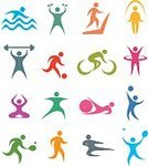 Symbol,Computer Icon,Sport,Exercising,Icon Set,Relaxation Exercise,People,Swimming,Yoga,Pilates,Running,Track Event,Jogging,Vector,Cycling,Soccer,Stretching,Jump Rope,Weights,Competitive Sport,Volleyball - Sport,Basketball - Sport,Bicycle,Weight Training,Tennis,Health Club,Playing,Treadmill,Jumping Rope,Athlete,Plastic Hoop,Jumping,Gymnastics,Weightlifting,Design Element,Cyclist,Color Image,Ball,Martial Arts,Stair Climbing Machine,Kicking,Activity,Badminton,Karate,Ilustration,Kung Fu,Racket