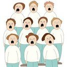 Choir,Togetherness,Group Of Voices,Child,Singing,Harmony,Agreement,Open,Small Group Of Voices,Opening,People,Human Mouth,Sound,Vector,Chanting,Group Of People,Ilustration,Acting,Cartoon