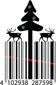Christmas,Modern,Design,Bar Code,Pattern,Winter,Shopping Bag,Merchandise,Celebration,Drawing - Art Product,Vector,Dance And Electronic,Sale,Coding,Ilustration,Single Object,Concepts,Electronics Industry,Electronics Store,December,Eps10,Reindeer,Ideas,Technology,Black Color,Creativity,Gift,Retail,Data,Symbol,Abstract,Laser,Business,Striped,Electro Pop,Fir Tree,Greeting Card,Buying,White,Order,Isolated