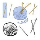 Knitting Needle,Ball Of Wool,Relaxation,Blue,Creativity,Craft,Industry,Art And Craft,Equipment,Crocheting,household objects,Illustrations And Vector Art,Vector Cartoons,Cute,hand drawn,Symbol,Cartoon,White,Acrylic,Wool,Black And White,fancywork,Drawing - Art Product,Vector,Leisure Activity,Domestic Life,Crochet,Ilustration,Hobbies,Group of Objects,Color Image