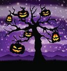Silhouette,Purple,Star - Space,Night,Star Shape,Autumn,Backgrounds,Pumpkin,Fantasy,Horror,Sky,Dark,Nature,Death,Tree,Grass,Vector,Holiday,Jack,Painted Image,Letter O,Animated Cartoon,Halloween,Evil,October,Invitation,Art,Flyer,Gothic Style,Season,Falling,Moon,Light - Natural Phenomenon,Shock,Midnight,Spooky,Black Color,Design Professional,Cemetery,Design,Cartoon,Poster,Lighting Equipment,Ilustration,Lantern,Dead,Greeting Card,Party - Social Event,Cross,Celebration