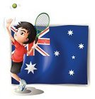 Tennis,Men,Little Boys,National Landmark,Male,Playing,Photograph,Computer Graphic,Image,Competitive Sport,Picutre,Clip Art,Healthy Lifestyle,Racket,Symbol,People,Sign,Exercising,Isolated,White,Red,Blue,Rectangle,Action,Backgrounds,One Person,At The Edge Of,Sport,nation,sides,Ball,Flag,Athlete,Australia,Serving