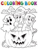 Halloween,Coloring,Coloring Book,Pumpkin,Ghost,Cartoon,Outline,Autumn,Holiday,Art,Vector,Design,Vampire,Looking,Drawing - Art Product,Eps10,Hat,Book,Season,Characters,Spooky,Costume,Computer Graphic,Event,Cap,Clip Art,Celebration,October,Ilustration,Witch