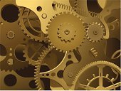 Gear,Time,Factory,Backgrounds,Abstract,Three-dimensional Shape,Machine Part,Clock Face,Science,Vector,Business,Technology,Invention,New,Steel,Ideas,Fantasy,Design,Gold Colored,Majestic,Ilustration,Awe,rendering,Creativity,Three Dimensional,Shape,Gold,Sayings,Bronze,Bronze,Equipment,Metal,Close-up,Springs,axis,No People,Pinion,Innovation,Yellow,Time,Illustrations And Vector Art,Inside Of,Full Frame,Business,Concepts And Ideas,Business Concepts
