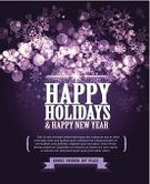 Christmas,Purple,template,Vector,Holiday,happy holidays,Shiny,Bright,Snowflake,Dark,Design,Glowing,Greeting,Celebration,Ilustration,Text,Backgrounds,Contrasts