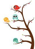 Animal,Forest,Bird,Baby,Cute,Young Animal,Flower,Winter,Tree,Set,Plant,Decoration,Leaf,Art,Childishness,Vector,Blossom,Collection,Abstract,Ilustration,Summer,Colors,Green Color,Nature,White,Style,Autumn,Isolated,Season,Design,Cartoon,Springtime,Branch,Flower Head,Yellow,Bright,Multi Colored,Red,Pink Color,Part Of,Blue,Computer Graphic