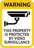 Security Camera,Sign,Warning Symbol,Home Video Camera,Surveillance,Computer Icon,Safety,Watching,Label,Security,Warning Sign,At Attention,Monitored Area,Symbol,Sound Recording Equipment,Security Guard,Technology,Security System,Emotion,Road Sign,Restricted Area Sign,Camera Surveillance,Yellow,Vector,Color Image,Ilustration,24 Hrs,Road Warning Sign,Camera - Photographic Equipment