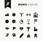 Sport,Symbol,Computer Icon,Icon Set,Exercising,The Media,American Football - Sport,Baseballs,Baseball - Sport,Football,Checkered Flag,Information Medium,Podium,Weightlifting,Soccer,Application Software,Weights,Design,Ilustration,Design Element,Medalist,Bowling,Freshness,Jogging,Basketball - Sport,Success,Surfing,Martial Arts,Sign,Basketball,Computer Graphic,Interface Icons,Connection,Dieting,Internet,Set,Stopwatch,Running,Pulse Trace,Concepts,Multimedia,Tennis,Modern