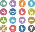 Human Hand,Symbol,Icon Set,High-Five,Gesturing,Fist,Clapping,OK Sign,Greeting,Touching,Hand Sign,Obscene Gesture,Hands Clasped,Index Finger,Palm,Thumbs Up,Pointing,Two Fingers,Peace Sign,Hands Cupped,Sea Of Hands,Beckoning,Saluting,Horn Sign,Handshake,Directing,Communication,Shielding,Rock And Roll Sign,Gun Sign,Set,Multi Colored,Thumbs Down,One Finger,Punching The Air,Zen-like,Arms Raised,Meditating