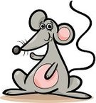 Rat,Clip Art,Humor,Happiness,Fun,Gray,Tail,Living Organism,Rodent,Mouse,Animal Teeth,Cheerful,Animal Ear,Vector,Characters,Animal,Drawing - Art Product,Sketch,Mascot,Cute,Cartoon,Ilustration,Smiling
