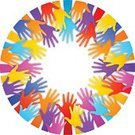 Human Hand,Circle,Reaching,Unity,Multi Colored,Silhouette,Arms Raised,Human Arm,Community,Togetherness,Symbol,Group Of People,People,Communication,Design Element,A Helping Hand,Arms Outstretched,Inspiration,Vector,Human Finger,Crowd,Palm,Greeting,Concepts,Concepts And Ideas,isolated objects