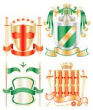 Shield,Medieval,Coat Of Arms,The Crusades,Work Helmet,Nobility,Flag,Sword,Crown,Warrior,Green Color,Heroes,Sign,Seal - Stamp,Banner,Design Element,Insignia,Gold Colored,Design,Classic,Gothic Style,Gold,Scroll,Blank,Label,Metallic,Cultures,Ornate,Decoration,Majestic,Elegance,White,Luxury,Symbol,Scroll Shape,Silver Colored,Fantasy,Yellow,Simplicity,Red,Steel