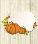 Harvesting,Autumn,Wood - Material,Orange Color,Vegetable,Ripe,Food,Design,Backgrounds,Leaf,Vegetarian Food,Coral Orange,Style,Banner,Maple Leaf,Miniature Pumpkin,Vector,Pumpkin