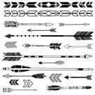 Arrow,'black And White',Black Color,Ilustration,Vector,White