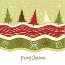 Christmas,Landscape,Winter,Ilustration,Vector